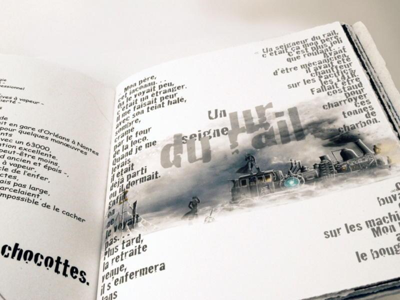 Livre d'artiste de Serg Gicquel 2