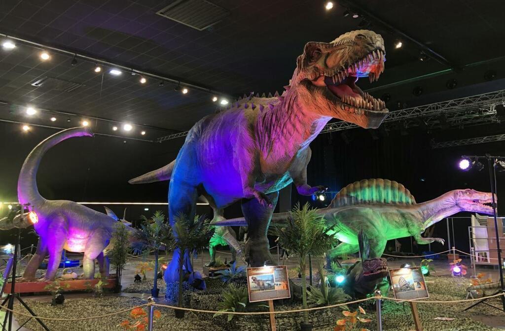 Monde des dinosaures Saint-Brieuc 2021