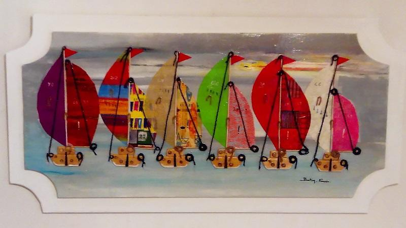Expo peinture - Francis Breton - Plobannalec-Lesconil - Pays Bigouden