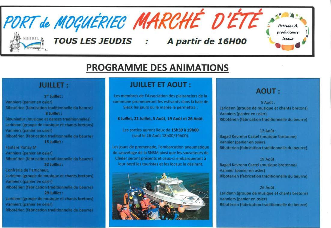 Sibiril-Marché Port de Moguériec