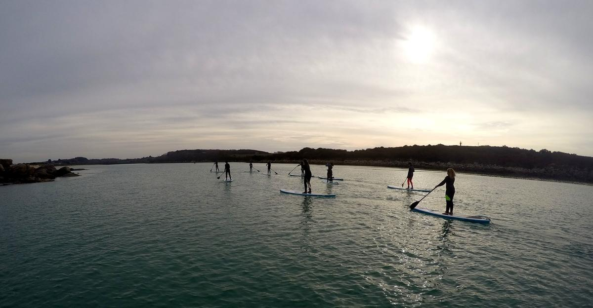 Sibiril-balade en stand up paddle