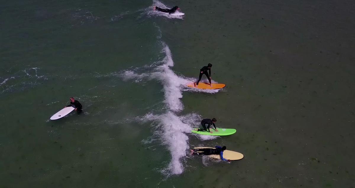 Sibiril-stage de surf