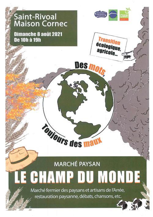 St Rivoal - Champ du Monde