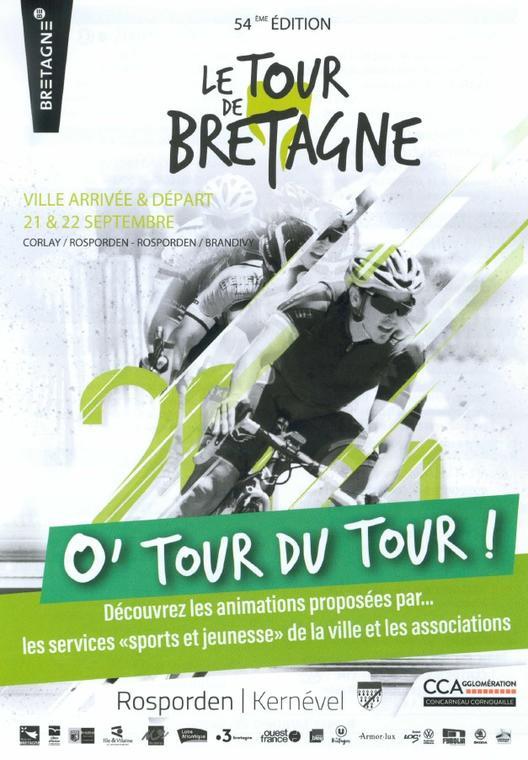 Tour de Bretagne à vélo recto