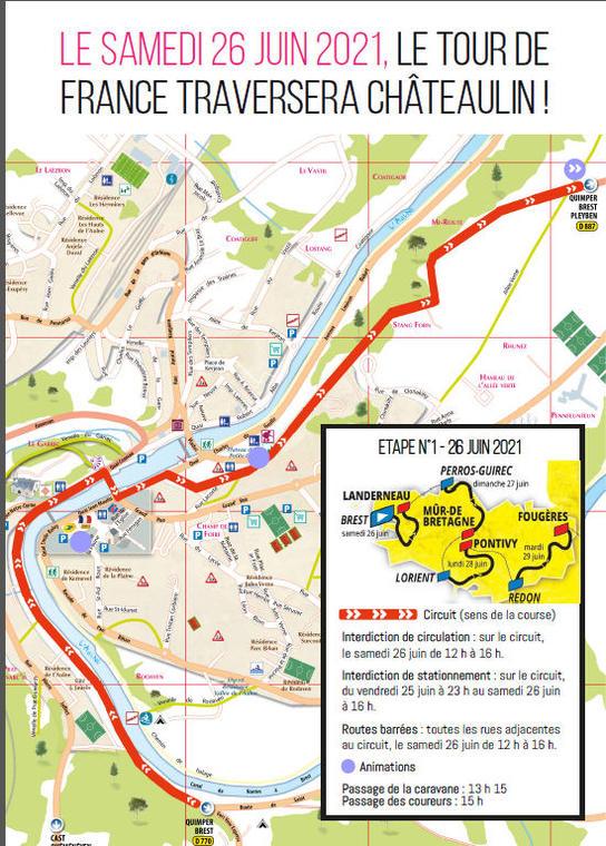 Tour de France - Châteaulin