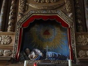 Vierge couchée - ND du Guiaudet