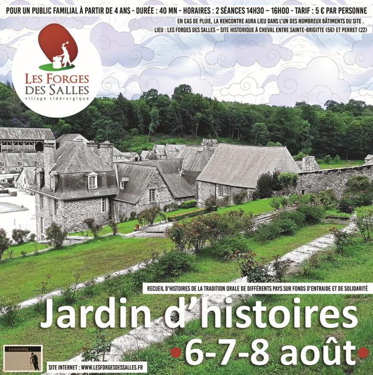 affiche jardin d'histoire