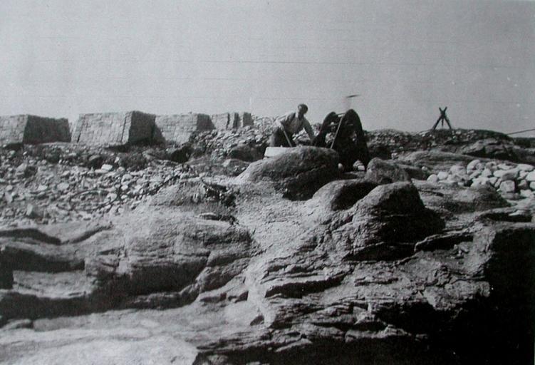 Carrières de ganit de l'Ile Grande