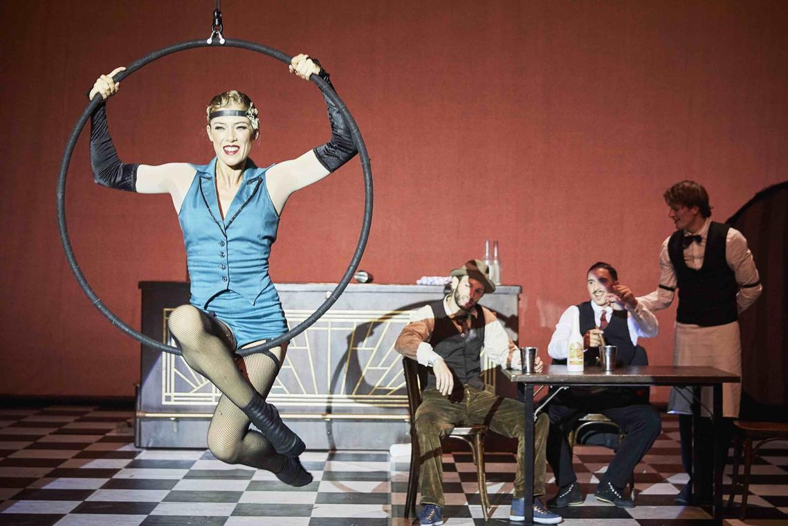 """THE RAT PACK  - """"Speakeasy"""" - Festival JOURS (et nuits) de Cirque(s) - CIAM"""