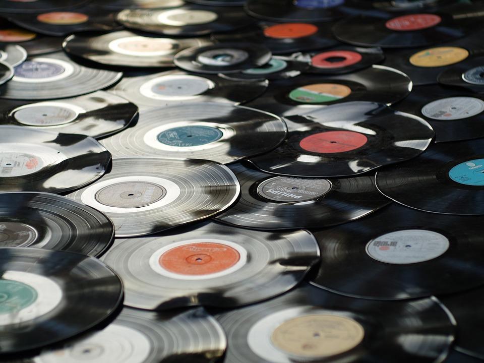 Bourse vinyl