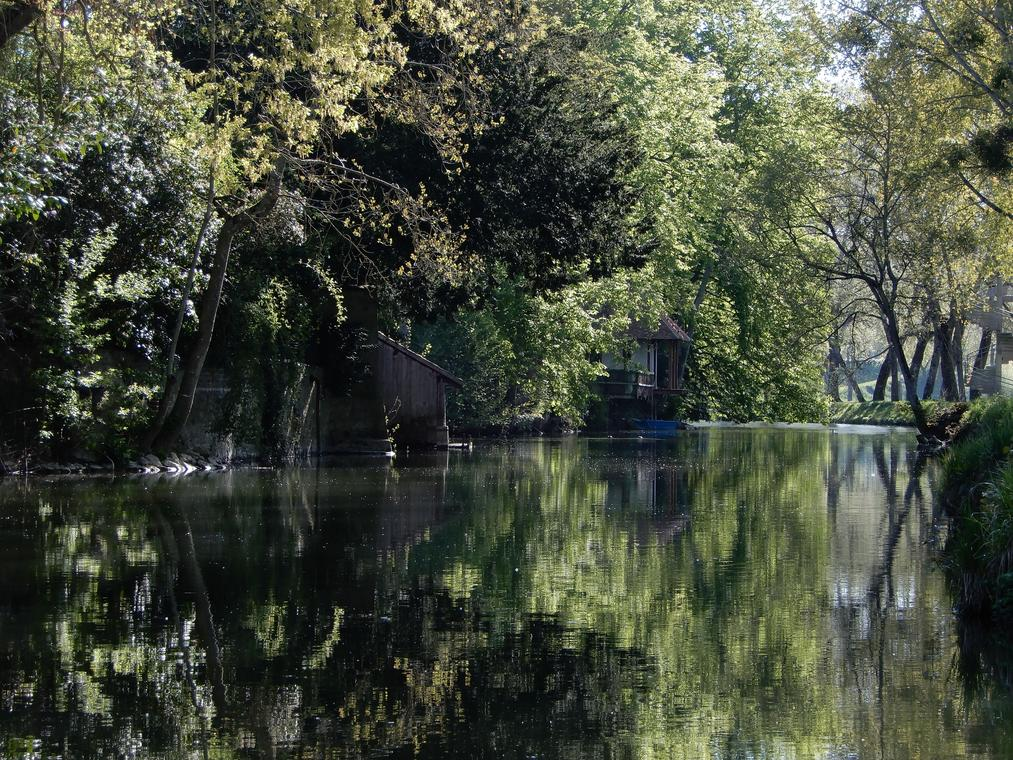 Vendôme - le Loir