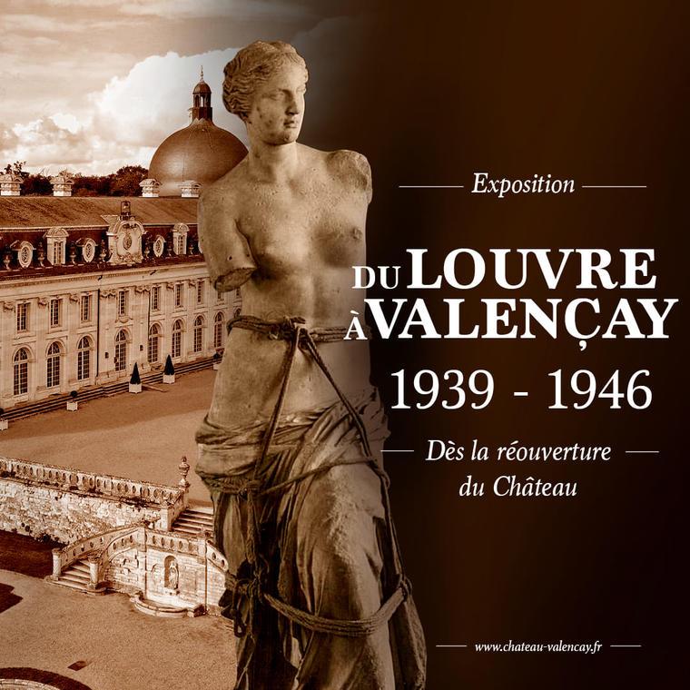 """Exposition """"Du Louvre à Valençay"""""""
