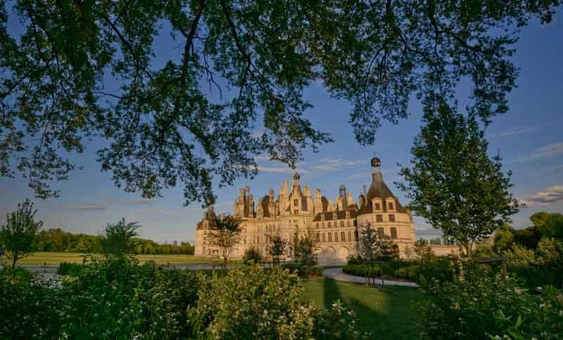 Les jardins du château de Chambord, théâtre des 500 ans de la Renaissance
