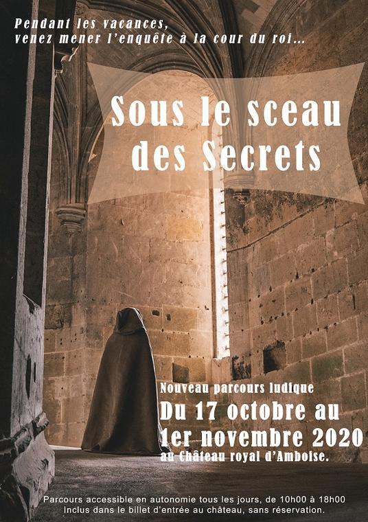 Sous le sceau des secrets_Château Royal d'Amboise