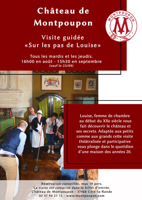 Visite-Louise-chateau-monntpoupon