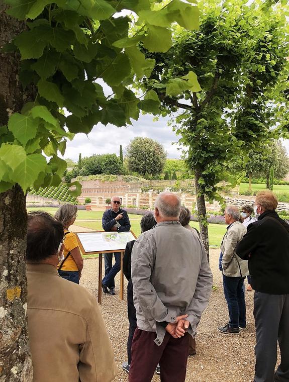 Visite jardin©A. Berthet_Château d'Amboise