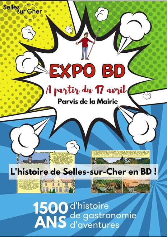 expo BD-selles-sur-cher-mairie-17 avril 2021-sudvaldeloire