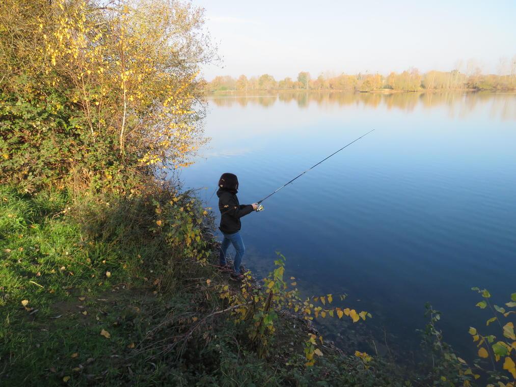 Pêcheur aux Rouanneraies