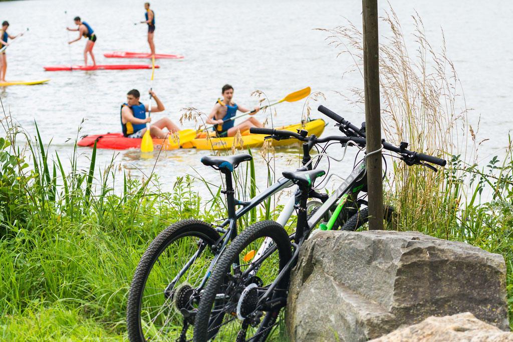 Activités Paddles, canoës, vélos - Base Fred Chouvier