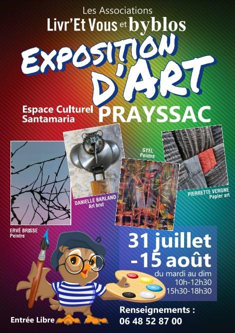@expo d'art Prayssac