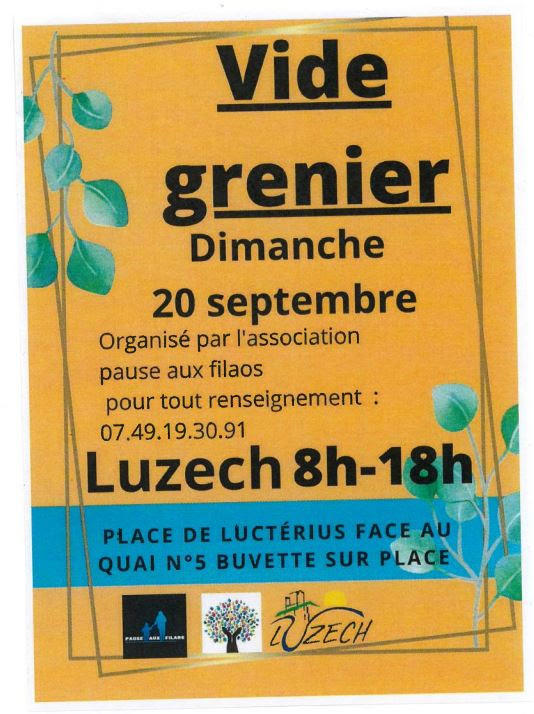 200920 Vide greniers Luzech 2