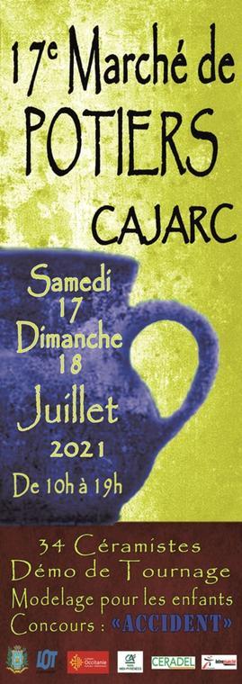 Affiche Cajarc 2021