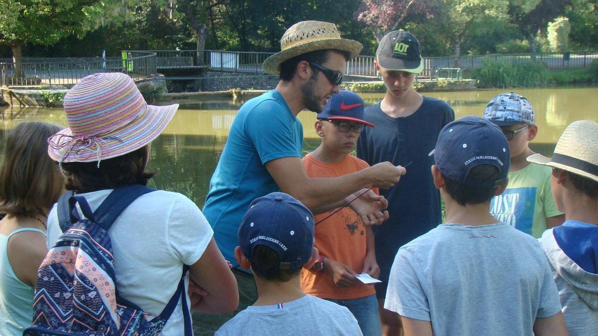 Atelier pêche nature Cazals 08.08.2019