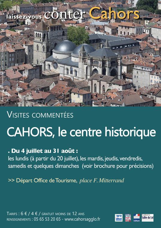 Cahors centre historique été