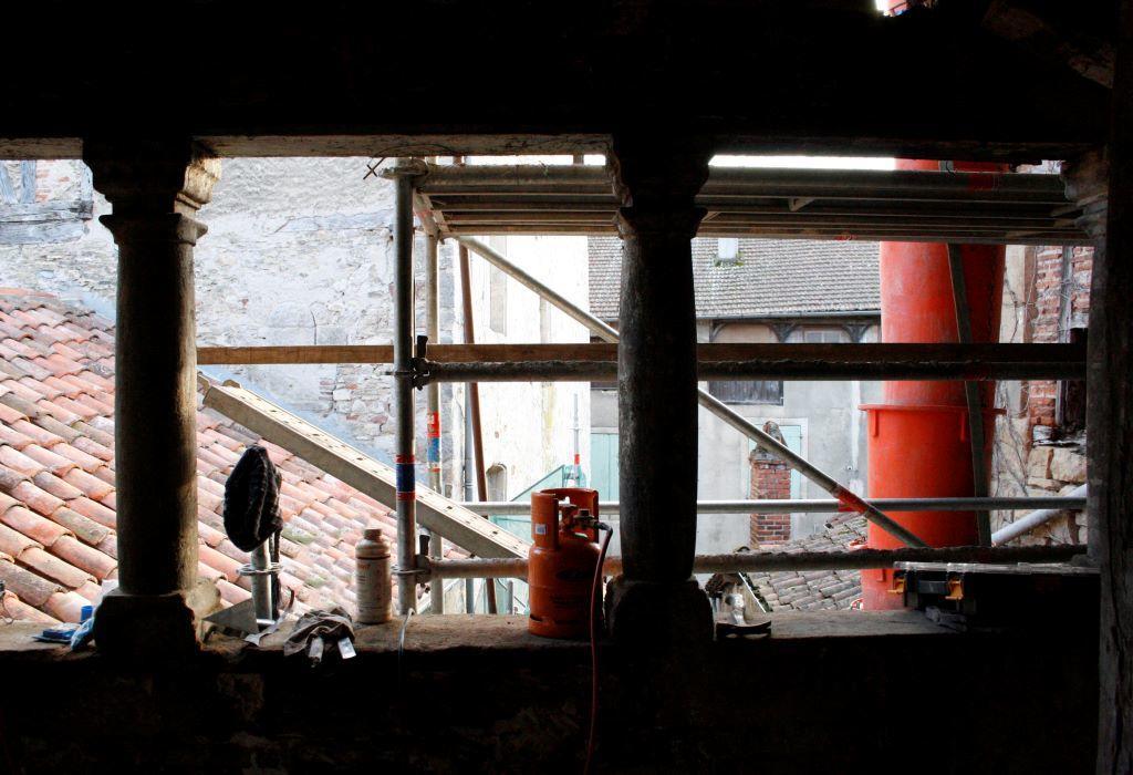 De chantier en chantier - photo service patrimoine-Ville de Figeac