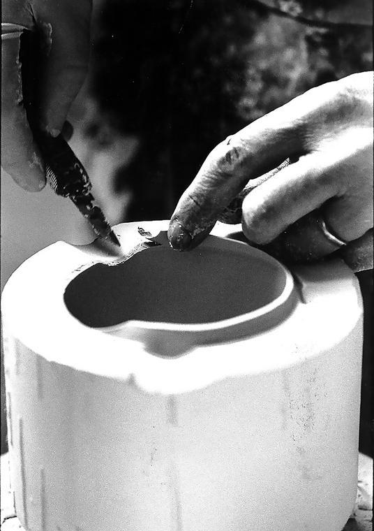 Décor sur céramique