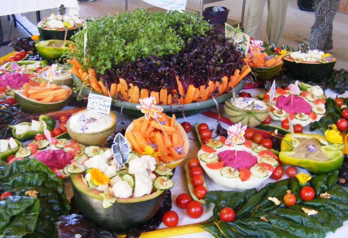 Délices du Jardin Bourian-Mandala à admirer et déguster