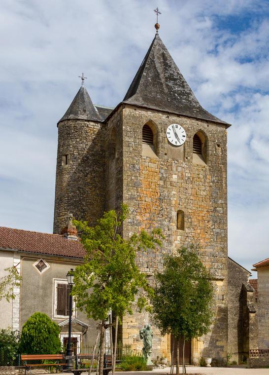 Eglise paroissiale Notre-Dame de l'Assomption Montgesty