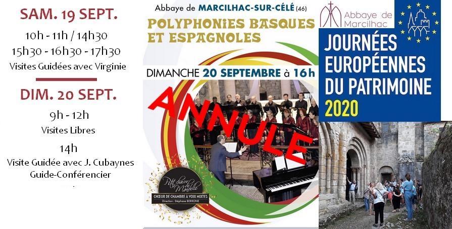 JEP 2020 marcilhac abbaye
