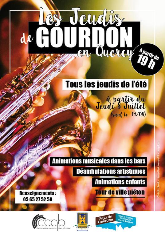 Jeudis de Gourdon 2021