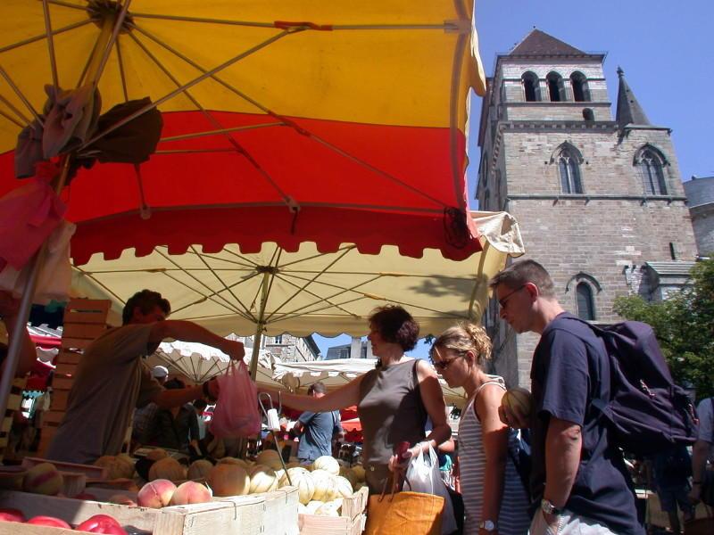 Marché à Cahors