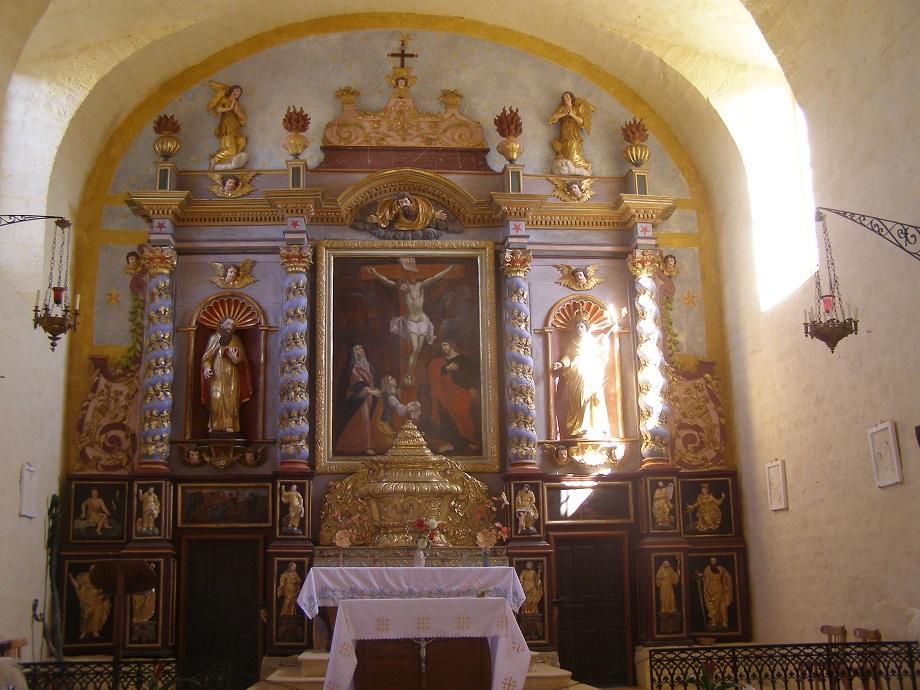 Retable église Saint-Louis Montcabrier