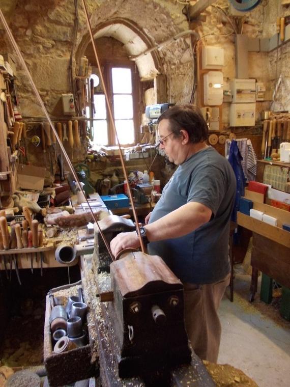 Patrick Vinel Tourneur sur bois
