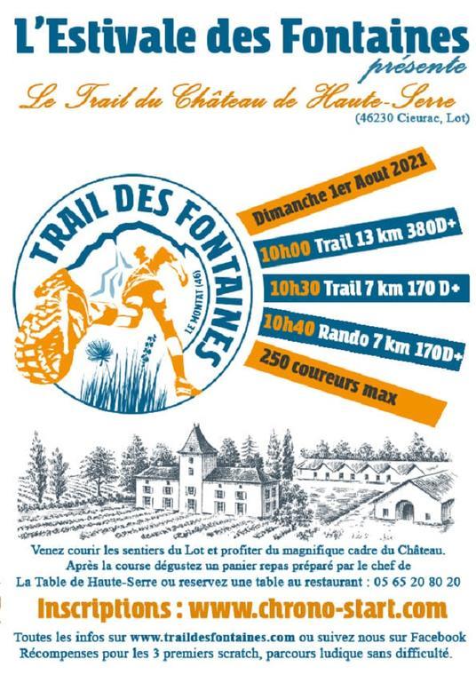Trail des Fontaines