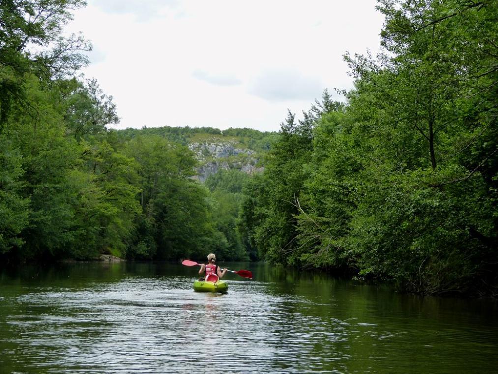 canoe-vallée du célé