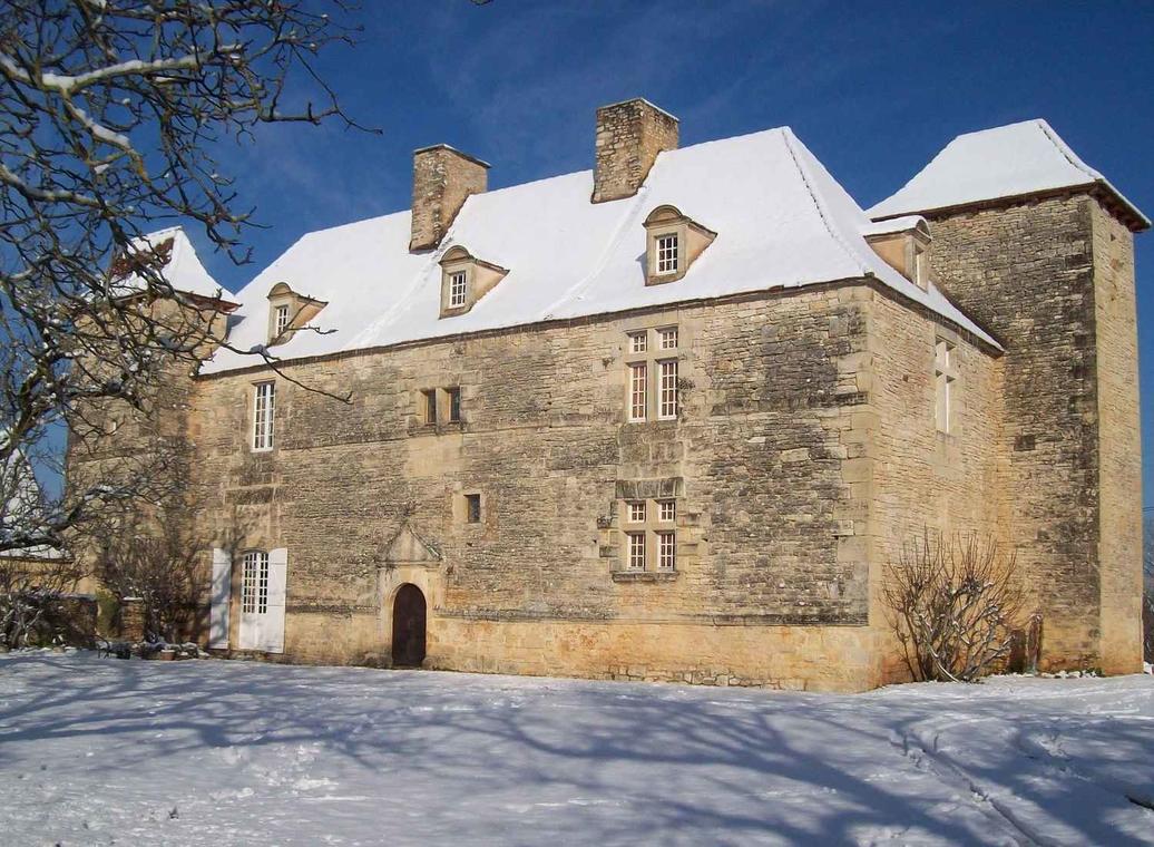chateau de lantis neige