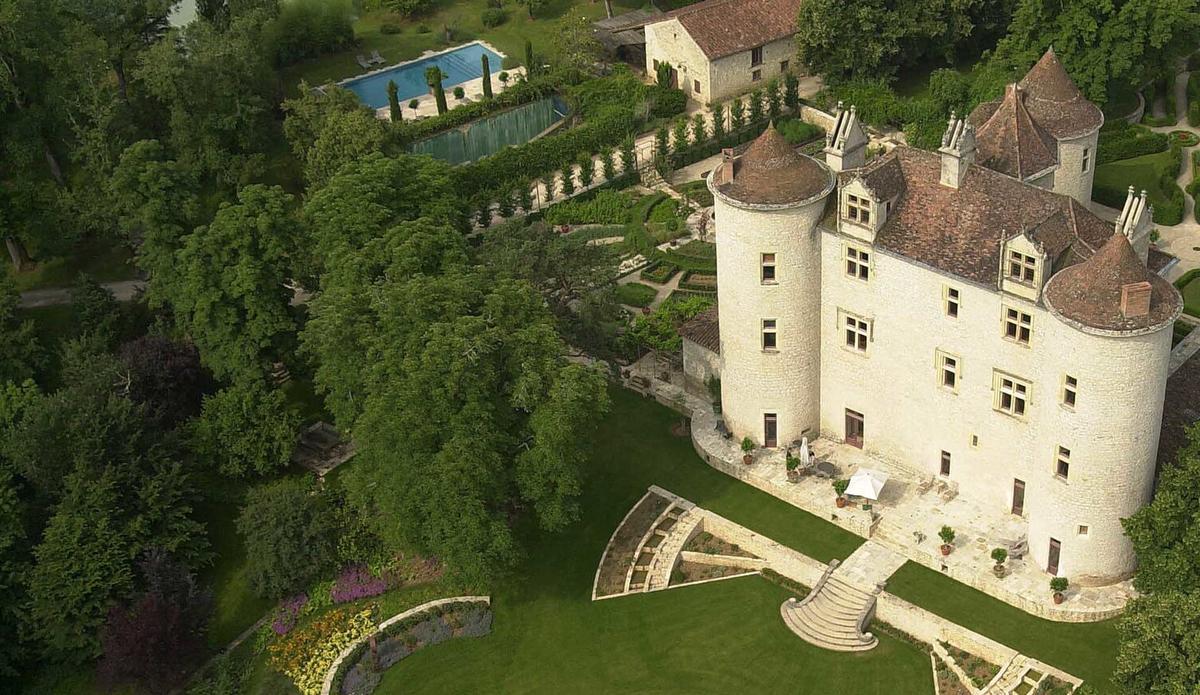 château lagrézette image