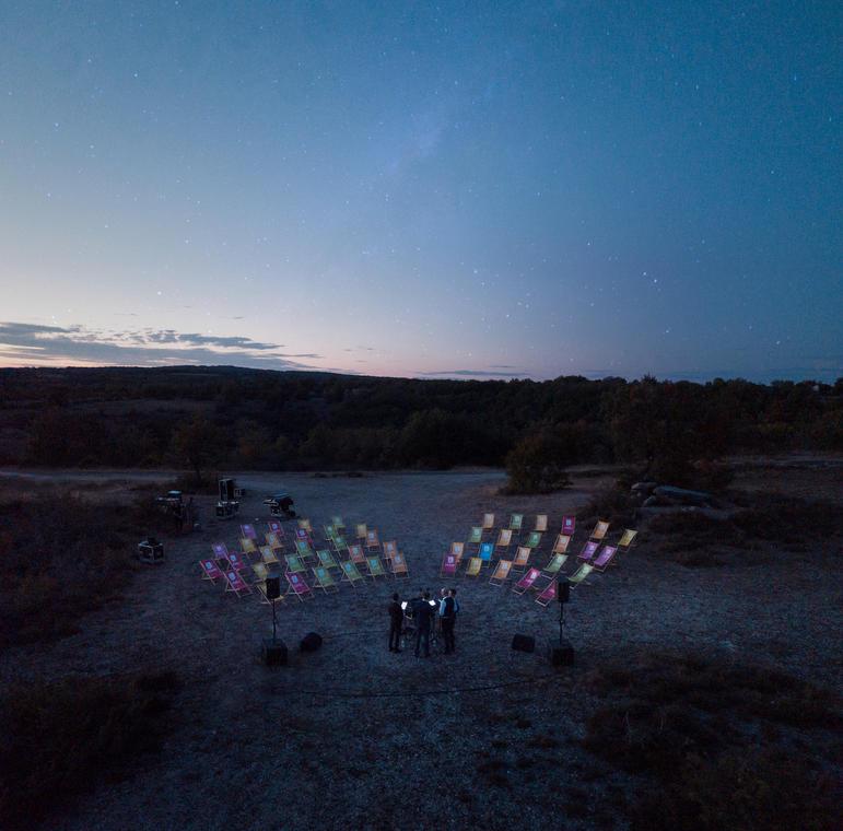 Concert sous les étoiles par Climax - Festival de Rocamadour