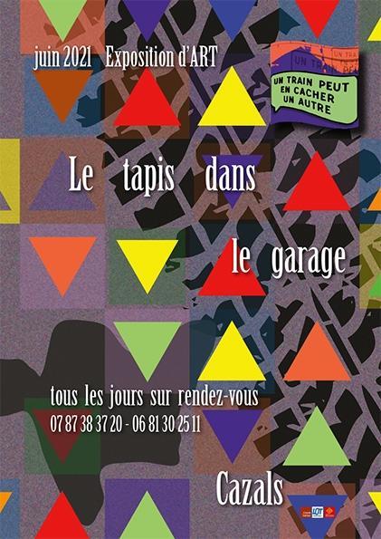 expo tapis dans garage@UnTrainPeut...