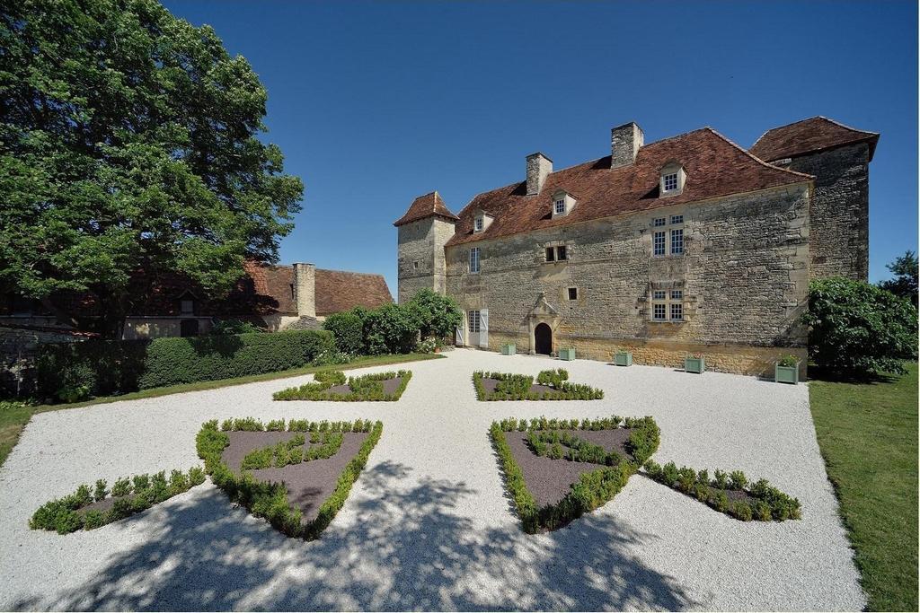 jardin renaissance Chateau de Lantis