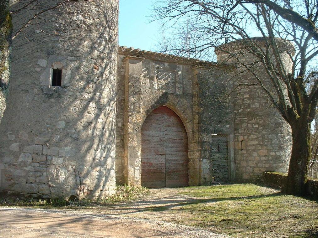 porte château de Labastide-Marnhac
