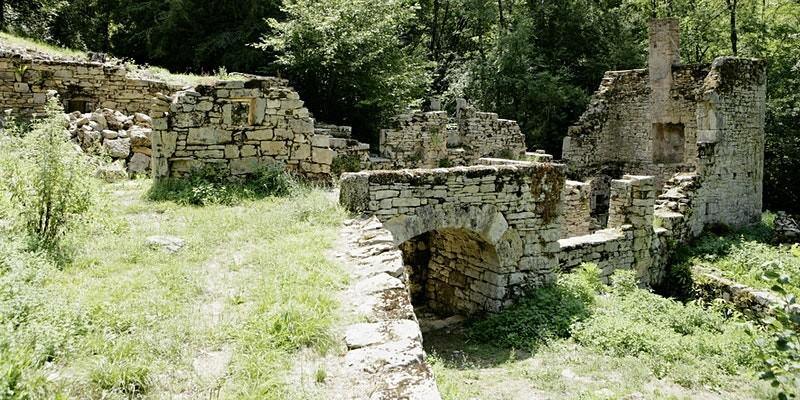 ruines les arques