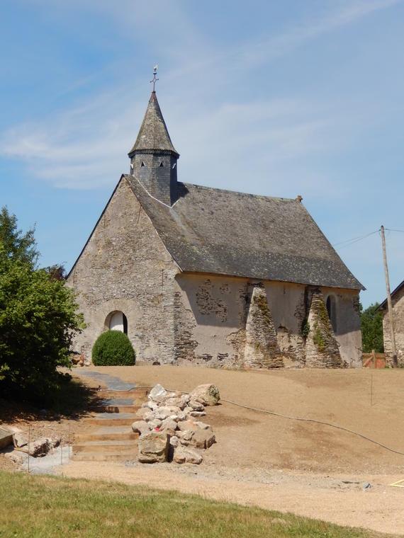 Chapelle La Gachetière - Angrie CR SI Candé