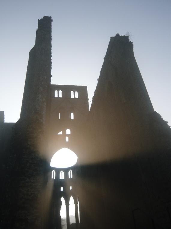 Hambye_Abbaye-contre-jour