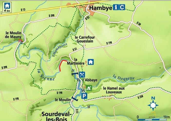 La Sienne - Hambye