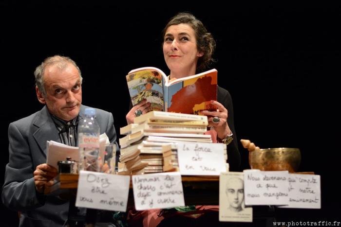L'Herberie conférence théâtre - Alain Fournier -
